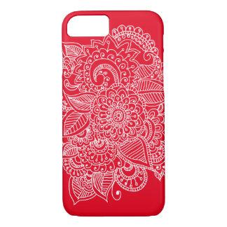 Bright Elegant Beautiful Paisley Doodle iPhone 8/7 Case