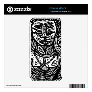 Bright Enthusiastic Soulful Perfect iPhone 4 Skins