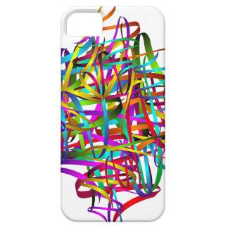 Bright Exuberant Swirly Satin Ribbons iPhone SE/5/5s Case