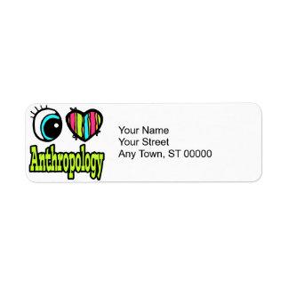Bright Eye Heart I Love Anthropology Label