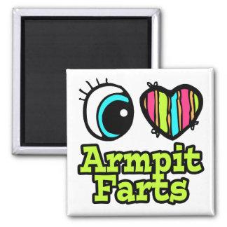 Bright Eye Heart I Love Armpit Farts Magnet