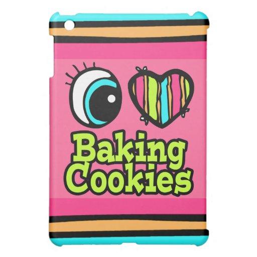 Bright Eye Heart I Love Baking Cookies iPad Mini Case