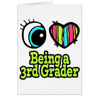 Bright Eye Heart I Love Being a 3rd Grader Card