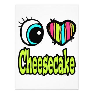 Bright Eye Heart I Love Cheesecake Announcements