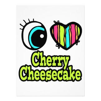 Bright Eye Heart I Love Cherry Cheesecake Announcement