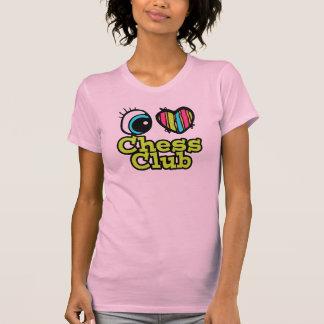Bright Eye Heart I Love Chess Club T-Shirt