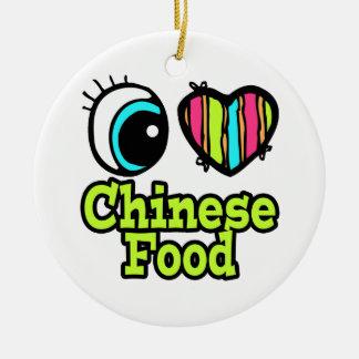 Bright Eye Heart I Love Chinese Food Ornament