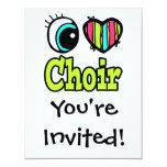Bright Eye Heart I Love Choir Card
