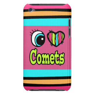 Bright Eye Heart I Love Comets Barely There iPod Cover