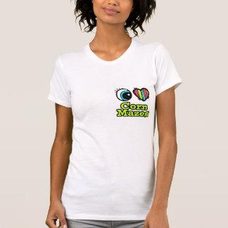 Bright Eye Heart I Love Corn Mazes T-Shirt