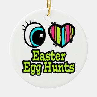Bright Eye Heart I Love Easter Egg Hunts Christmas Ornament
