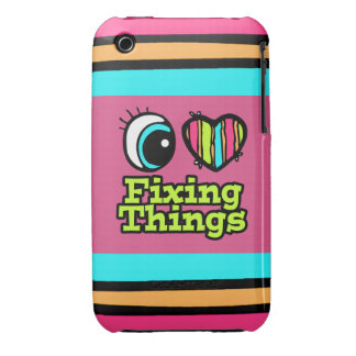 Bright Eye Heart I Love Fixing Things iPhone 3 Case-Mate Case