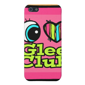 Bright Eye Heart I Love Glee Club Cover For iPhone 5/5S