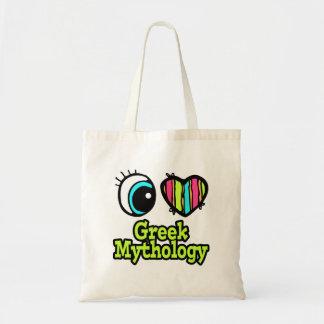 Bright Eye Heart I Love Greek Mythology Tote Bag