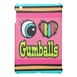 Bright Eye Heart I Love Gumballs Cover For The iPad Mini