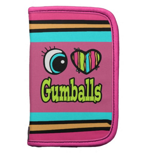 Bright Eye Heart I Love Gumballs Planners