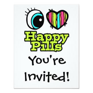 Bright Eye Heart I Love Happy Pills Card