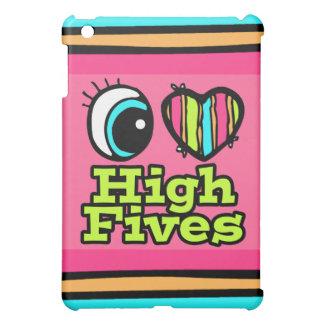 Bright Eye Heart I Love High Fives iPad Mini Cover