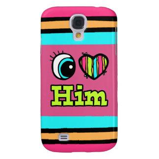Bright Eye Heart I Love Him HTC Vivid Cover