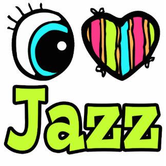 Bright Eye Heart I Love Jazz Photo Cut Outs
