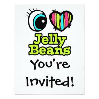 Bright Eye Heart I Love Jelly Beans Card
