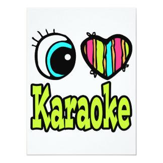 Bright Eye Heart I Love Karaoke Announcement