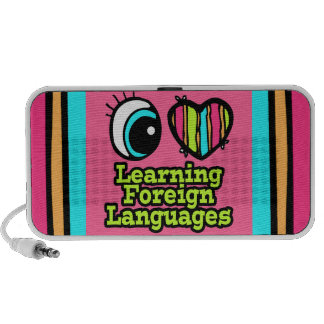 Bright Eye Heart I Love Learning Foreign Languages Mp3 Speaker