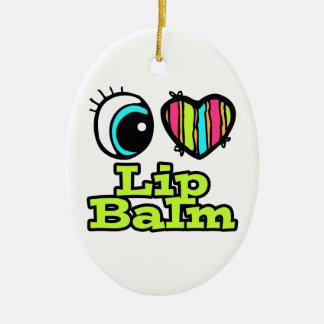 Bright Eye Heart I Love Lip Balm Ornaments