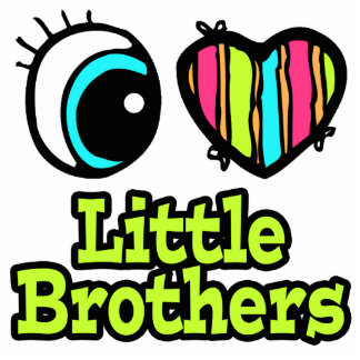 Bright Eye Heart I Love Little Brothers Cut Outs