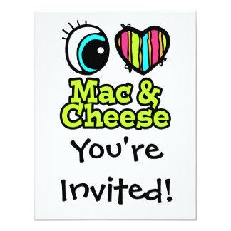 Bright Eye Heart I Love Mac and Cheese Card