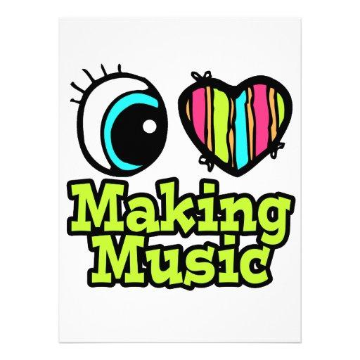 Bright Eye Heart I Love Making Music Announcement