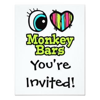 Bright Eye Heart I Love Monkey Bars Card