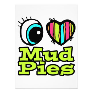 Bright Eye Heart I Love Mud Pies Announcement
