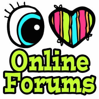 Bright Eye Heart I Love Online Forums Photo Cutouts