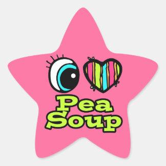 Bright Eye Heart I Love Pea Soup Stickers