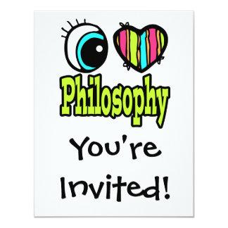 Bright Eye Heart I Love Philosophy Card