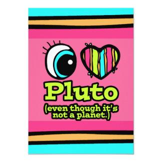 Bright Eye Heart I Love Pluto Invite