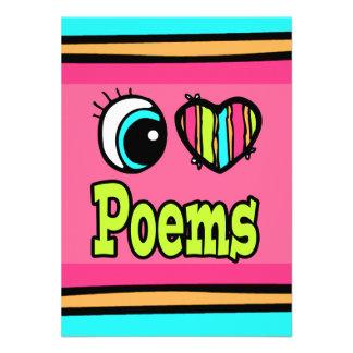 Bright Eye Heart I Love Poems Invitations