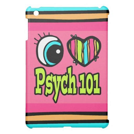Bright Eye Heart I Love Psych 101 iPad Mini Covers