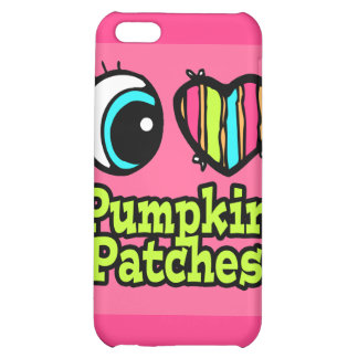 Bright Eye Heart I Love Pumpkin Patches Case For iPhone 5C