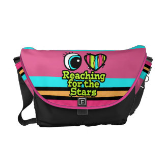 Bright Eye Heart I Love Reaching for the Stars Courier Bag