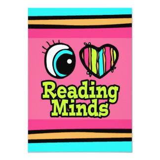 Bright Eye Heart I Love Reading Minds Card