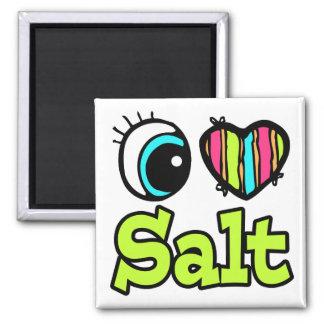 Bright Eye Heart I Love Salt Magnet