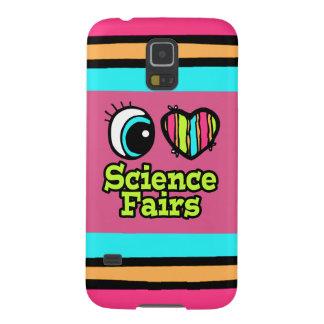 Bright Eye Heart I Love Science Fairs Galaxy S5 Cases