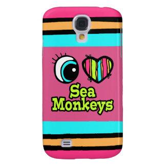 Bright Eye Heart I Love Sea Monkeys Galaxy S4 Covers