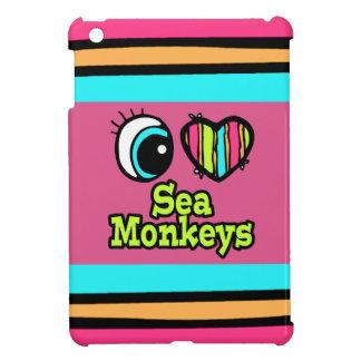 Bright Eye Heart I Love Sea Monkeys Cover For The iPad Mini