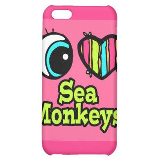 Bright Eye Heart I Love Sea Monkeys iPhone 5C Case