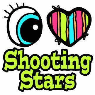 Bright Eye Heart I Love Shooting Stars Photo Cut Out