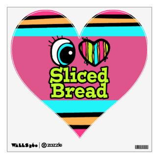 Bright Eye Heart I Love Sliced Bread Wall Decor
