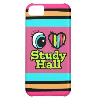 Bright Eye Heart I Love Study Hall iPhone 5C Cases
